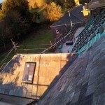 Roof refurb view